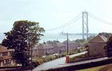 Forth Road Bridge under construction  -  1961-64