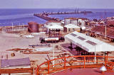 Regent Oil Terminal and Granton Western Breakwater, 1960-62