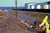 Tanks at Regent Oil Terminal, 1960-62