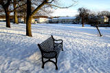 Inch Park Bench and View to Glenallan Drive