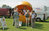Orange Juice Stall at Inverleith Park during 'Treefest Scotland', 2006
