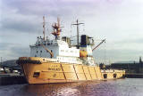 Leith Docks  -  April 1995  -  Nikolaev