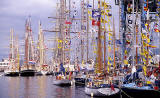 Leith Docks  -  Tall Ships + Flags