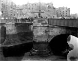 Upper Drawbridge over the Water of Leith at Sandport Place, Leith  -  1910