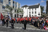 Liinlithgow Marches - The procession moves off - June 19, 2012