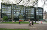 New Buildings beside Middle Meadow Walk  -  May 2008