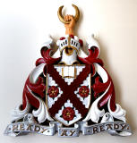 Merchistron Castle School  -  Coat of Arms