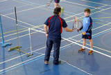 Merchiston Castle School  -  Tennis Lesson  -  February 2013