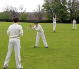 School Cricket  -  Merchiston Castle v. Dollar  -  16 May 2013