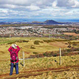 The Pentland Hills  -  A fine afternon on the first day of Spring:  March 20, 2015