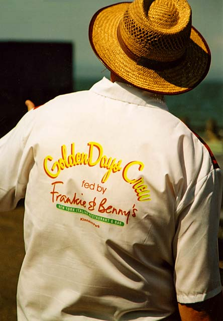 Portobello Golden Days Festival  -  14 June 2003  -  Tee-shirt