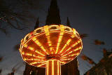 The Flying Carousel beside the Scott Monument in East Princes Street Gardens