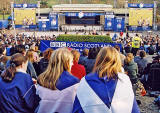 The Ross Bandstand in West Princes Street Gardens   -  during the 'Scotland v England' Rugby International Match on 22 March 2003