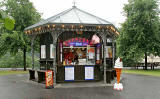 The Espresso Bar in East Princes Street Gardens, photographed  July 2006