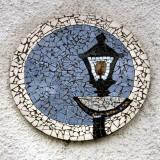Queeensferry  -  Lamp Post Mosaic
