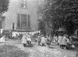 Old Photos  -  Social History  -  Nursery School Children in Edinburgh