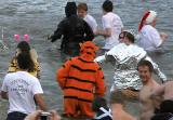 The Loony Dook  -  A dip in the Firth of  Forth at South Queensferry on New Year's Day, 2006