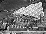 Aerial View of Morrison & Gibb Factory, Tanfield - 1937