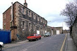 Gray's buildings at the end of Glenogle Road, Canonmills