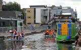 Canal Festival and 5th Annual Raft Race  -  Union Canal, Edinburgh, July 9, 2011