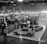East of Scotland Motor Show at Waverley Market, 1972