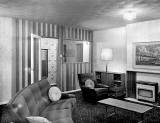 Furnished Room at the Ideal Home Exhibition at Waverley Market, 1960