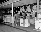 Ideal Home Exhibition at Waverley Market, Gas Stand - 1955