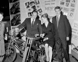 Scottish Open Air Holiday Show at Waverley Market - Two bikes - 1960