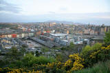 Looking down on the Waverley Valley from Calton Hill