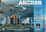 Edinburgh Waterfront  -  Building commences at Middle Pier  -  'Anchorage' apartments and plan showing other proposed developmets in Granton Western Harbour -  July 2006