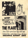Edinburgh clubs and discos  -  Advert for The Place  -  Early flyer