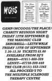Edinburgh Clubs and Discos, 1960s   -  Charity Reunion Night, 2008