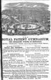 Advert in the Edinburgh & Leith Post Office Directory  -  1869  -  Royal Patent Gymnasium, Royal Crescent Park
