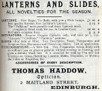 Adverrt  -  Thomas Haddow  -  1894