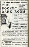 Photographic Dealers  - A H Baird  -  Adverts in his journal, Photographic Chat  - 1903  -  Pocket Dark Room