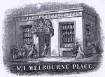 Detail from an advert in the Edinburgh & Leith Post Office Directory  -  1866  -  Alex Ferguson, 1 Melbourne Place