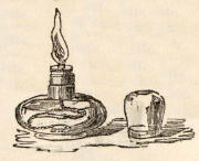 catalogue  -  Bland & Long  -  1856  -  Glass Spirit Lamp