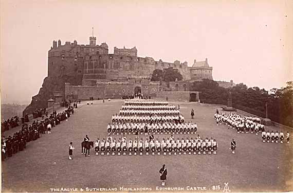Edinburgh Castle and Esplanade - Photo by Alex A Inglis