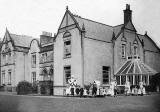 Gogarburn House - Nurses and Children outside