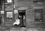 Shop at 3 Gorgie Cottages  -  Photo taken around 1914-15