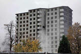 Gracemount Flats, SE Edinburgh  -  Demolition, Oct 2009