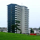 Garvald Court, Gracemount  -  High rise flats, 2009 - soon to be demolished