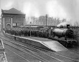 Granton Gas Works  Station, Official Opening,  1903
