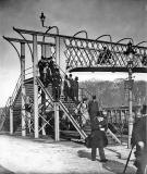Granton Gas Works Station, Footbridge -  Official Opening of the Gas Works,  1903