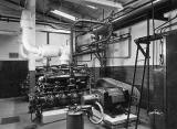 The Engine Room at Granton Ice Works, West Shore Road, Granton  -  Early 1950s