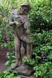Statue in Holyrood Palace Gardens  -  June 2010