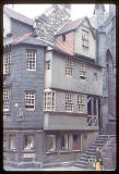 Photograph taken by Charles W Cushman in 1961 - John Knox House in Edinburgh's Royal Mile