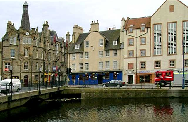 The King's Wark, beside the Water of Leith, The Shore, Leith