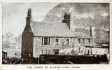 Postcard  -  The Laird of Dumbiedykes' House