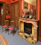 Lauriston Castle - Reception Hall Fireplace - October 2011
